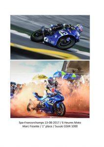 thumbnail of Spa-Francorchamps 13-08-2017 – Heures Moto – Marc Fissette – 1st place – Suzuki GSXR1000