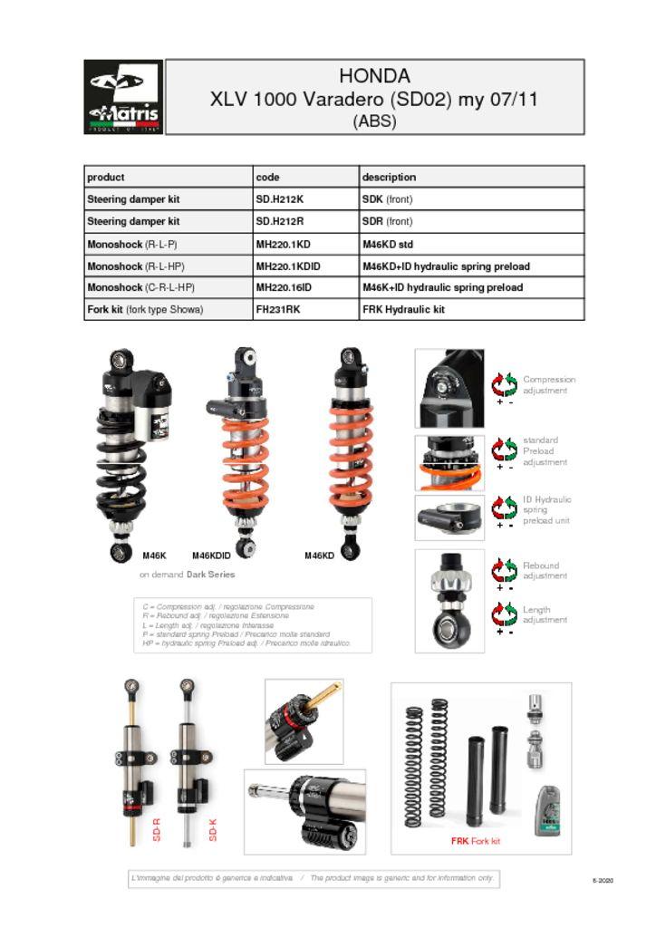 thumbnail of Honda XLV 1000 Varadero 07-11 (abs) web