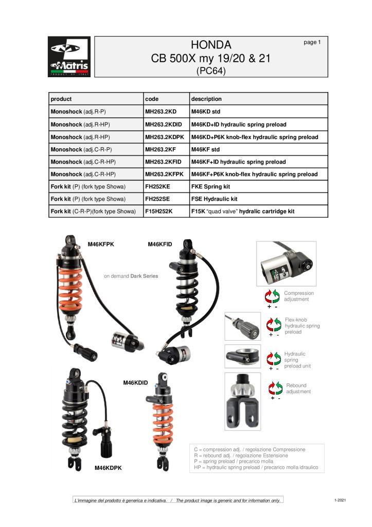 thumbnail of Honda CB 500X 19-20 & 21 web