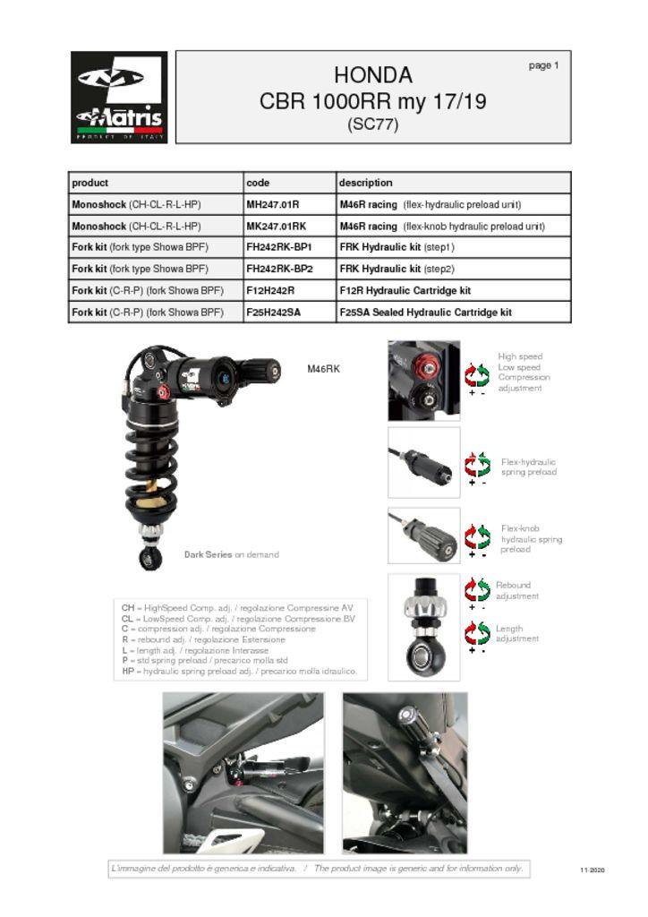 thumbnail of Honda CBR 1000RR 17-19 web