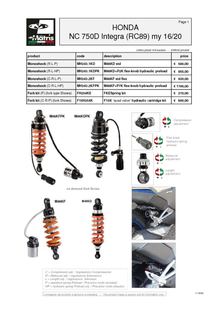 thumbnail of Honda NC 750D Integra 16-20 web