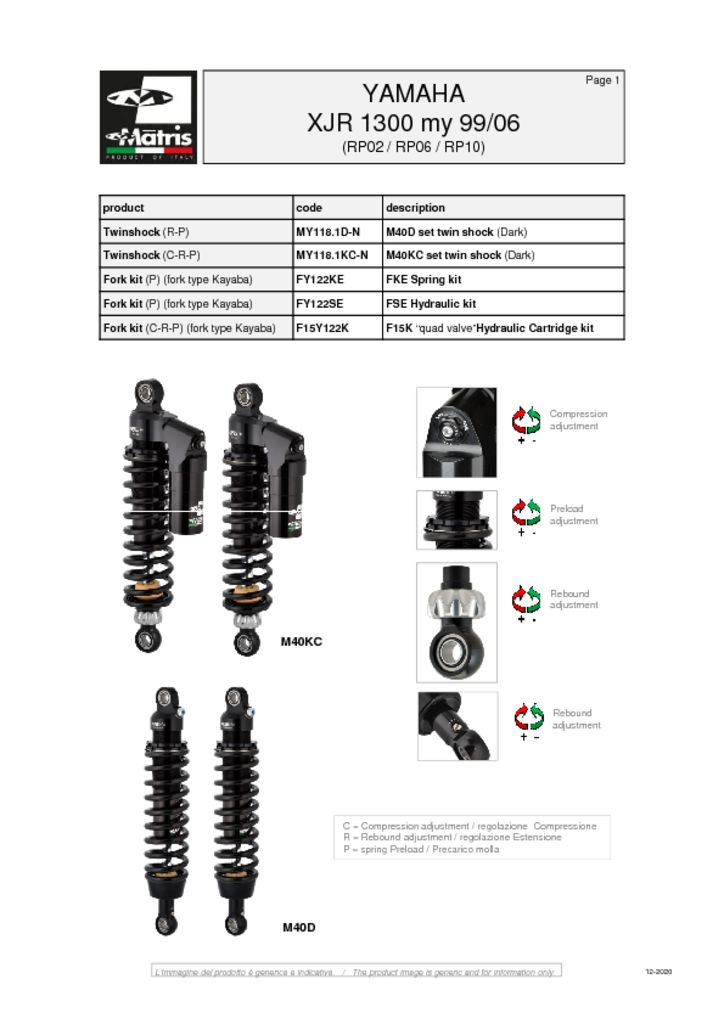 thumbnail of Yamaha XJR 1300 99-06 web