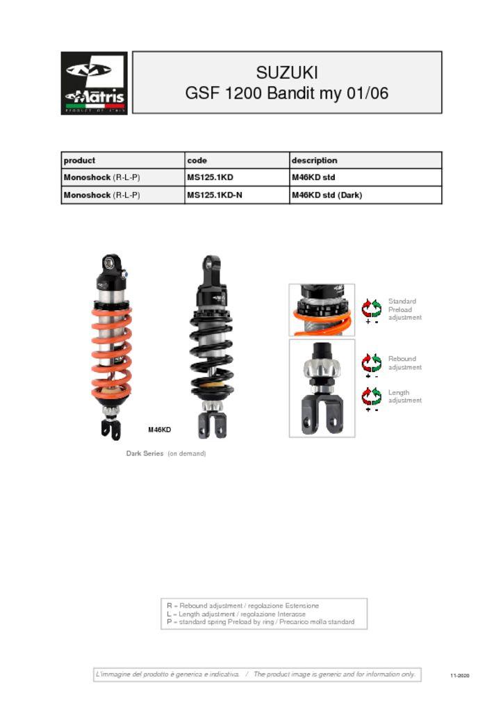 thumbnail of Suzuki GSF 1200 Bandit 01-06 web