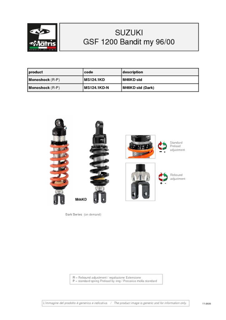 thumbnail of Suzuki GSF 1200 Bandit 96-00 web