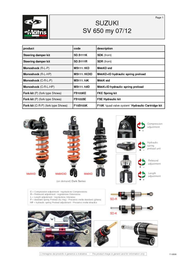 thumbnail of Suzuki SV 650 07-12 web