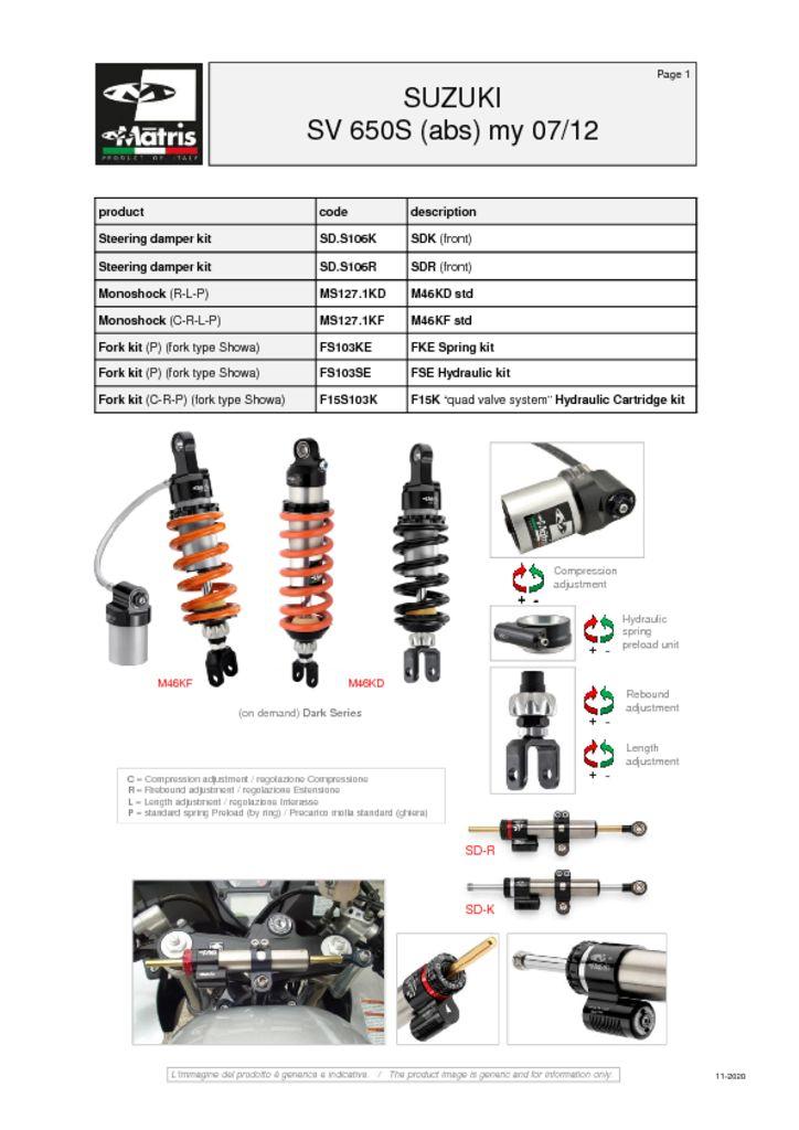 thumbnail of Suzuki SV 650S 07-12 (abs) web
