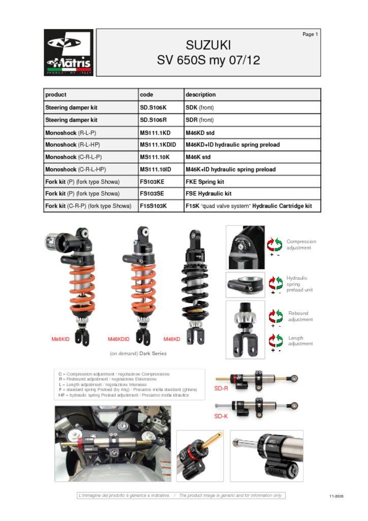 thumbnail of Suzuki SV 650S 07-12 web