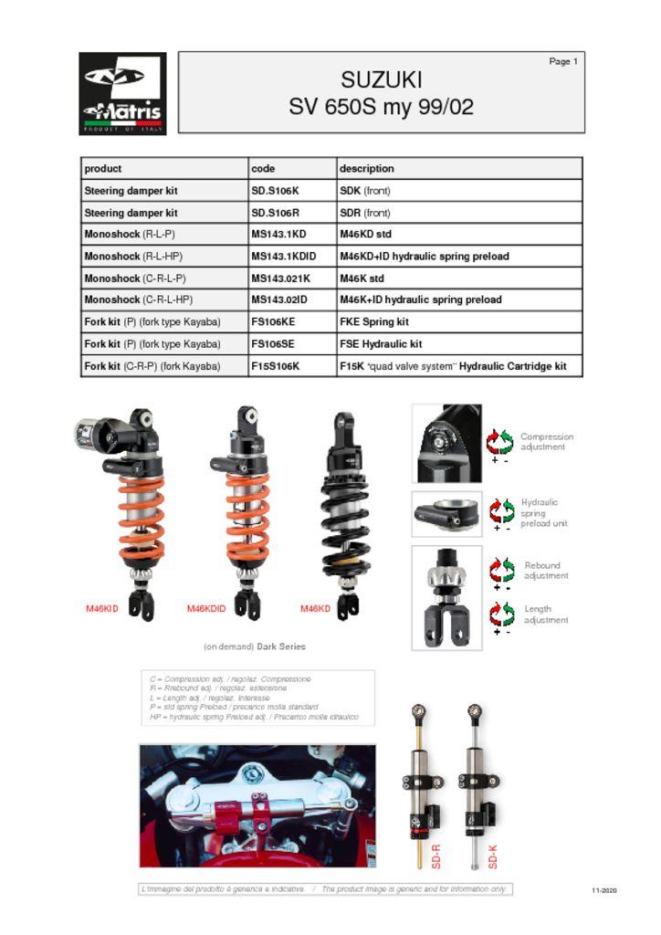 thumbnail of Suzuki SV 650S 99-02 web